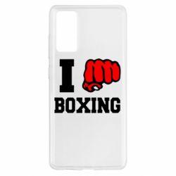 Чохол для Samsung S20 FE I love boxing