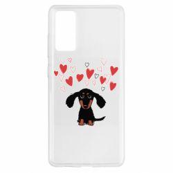 Чохол для Samsung S20 FE I love dachshund