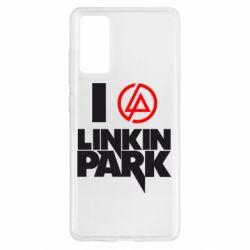 Чехол для Samsung S20 FE I love Linkin Park