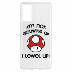 Чехол для Samsung S20 FE I'm not growing up, i level up