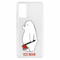 Чохол для Samsung S20 FE Ice bear