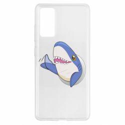 Чехол для Samsung S20 FE Ikea Shark Blahaj
