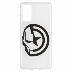 Чохол для Samsung S20 FE Iron Man and Captain America