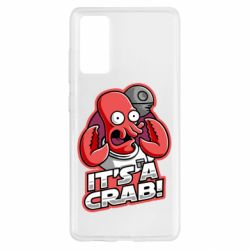 Чохол для Samsung S20 FE It's a crab!
