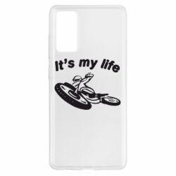 Чохол для Samsung S20 FE it's my moto life