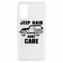 Чохол для Samsung S20 FE Jeep hair don't care