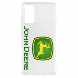 Чохол для Samsung S20 FE John Deere logo