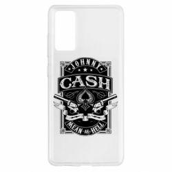 Чохол для Samsung S20 FE Johnny cash mean as hell