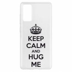 Чохол для Samsung S20 FE KEEP CALM and HUG ME