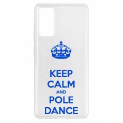 Чохол для Samsung S20 FE KEEP CALM and pole dance