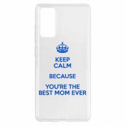 Чохол для Samsung S20 FE KEEP CALM because you're the best ever mom