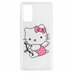 Чехол для Samsung S20 FE Kitty амурчик