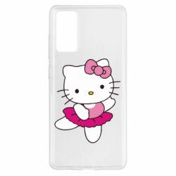 Чехол для Samsung S20 FE Kitty балярина