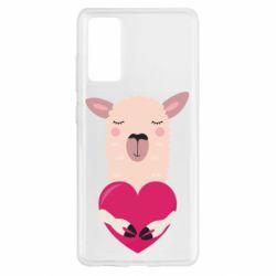 Чохол для Samsung S20 FE Lama with heart