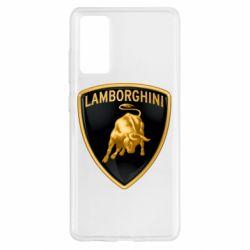 Чохол для Samsung S20 FE Lamborghini Logo