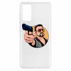 Чохол для Samsung S20 FE Лебовськи з пістолетом