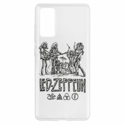 Чехол для Samsung S20 FE Led-Zeppelin Art