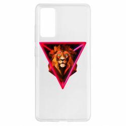 Чохол для Samsung S20 FE Lion art