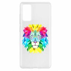 Чехол для Samsung S20 FE Lion vector
