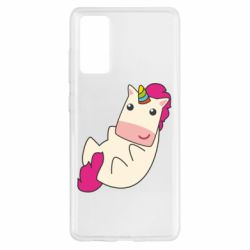 Чехол для Samsung S20 FE Little cute unicorn