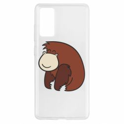 Чехол для Samsung S20 FE Little monkey