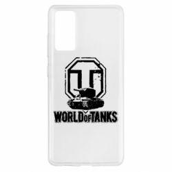Чохол для Samsung S20 FE Логотип World Of Tanks