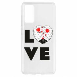 Чохол для Samsung S20 FE LOVE hedgehogs