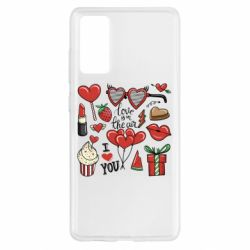 Чохол для Samsung S20 FE Love is in the air