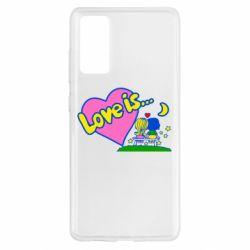 Чохол для Samsung S20 FE Love is...