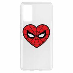Чохол для Samsung S20 FE Love spider man