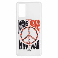 Чохол для Samsung S20 FE Make love, not war