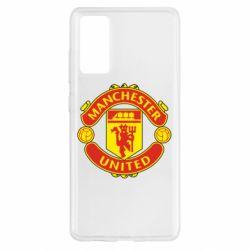 Чохол для Samsung S20 FE Манчестер Юнайтед