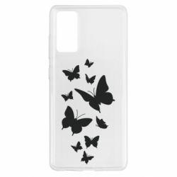 Чохол для Samsung S20 FE Many butterflies