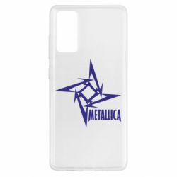 Чохол для Samsung S20 FE Логотип Metallica