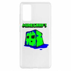 Чохол для Samsung S20 FE Minecraft Head
