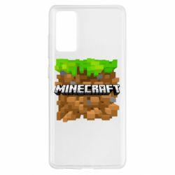 Чохол для Samsung S20 FE Minecraft Main Logo