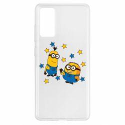 Чохол для Samsung S20 FE Minions and stars