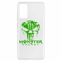 Чохол для Samsung S20 FE Monster Energy Череп