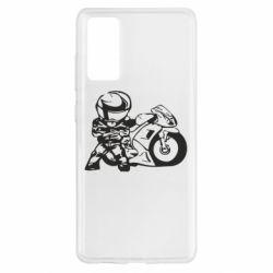 Чохол для Samsung S20 FE Мотоцикліст