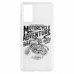 Чехол для Samsung S20 FE Motorcycle Adventure