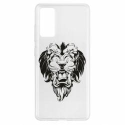 Чохол для Samsung S20 FE Muzzle of a lion