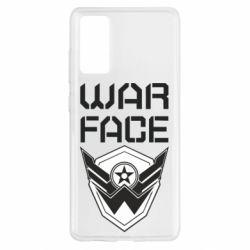 Чохол для Samsung S20 FE Напис Warface