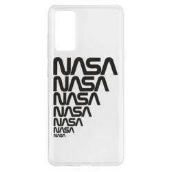 Чехол для Samsung S20 FE NASA