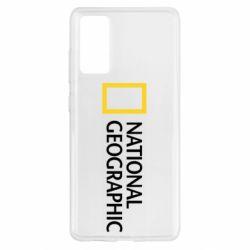 Чохол для Samsung S20 FE National Geographic logo