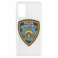 Чехол для Samsung S20 FE New York Police Department