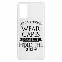 Чохол для Samsung S20 FE Not all heroes wear capes
