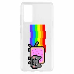 Чохол для Samsung S20 FE Nyan cat