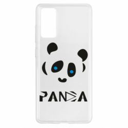 Чохол для Samsung S20 FE Panda blue eyes
