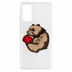 Чехол для Samsung S20 FE Panda Boxing