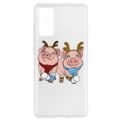 Чохол для Samsung S20 FE Pigs